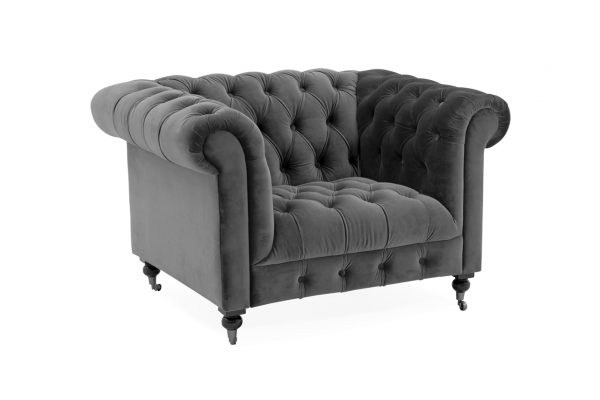 traditional gray chair fabric
